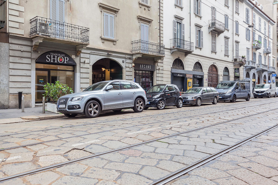 Temporary store corso vercelli milano